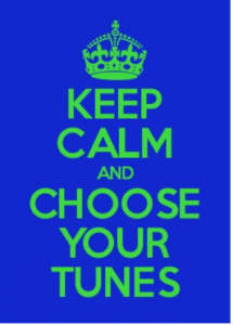 Cycle2city choose your tunes