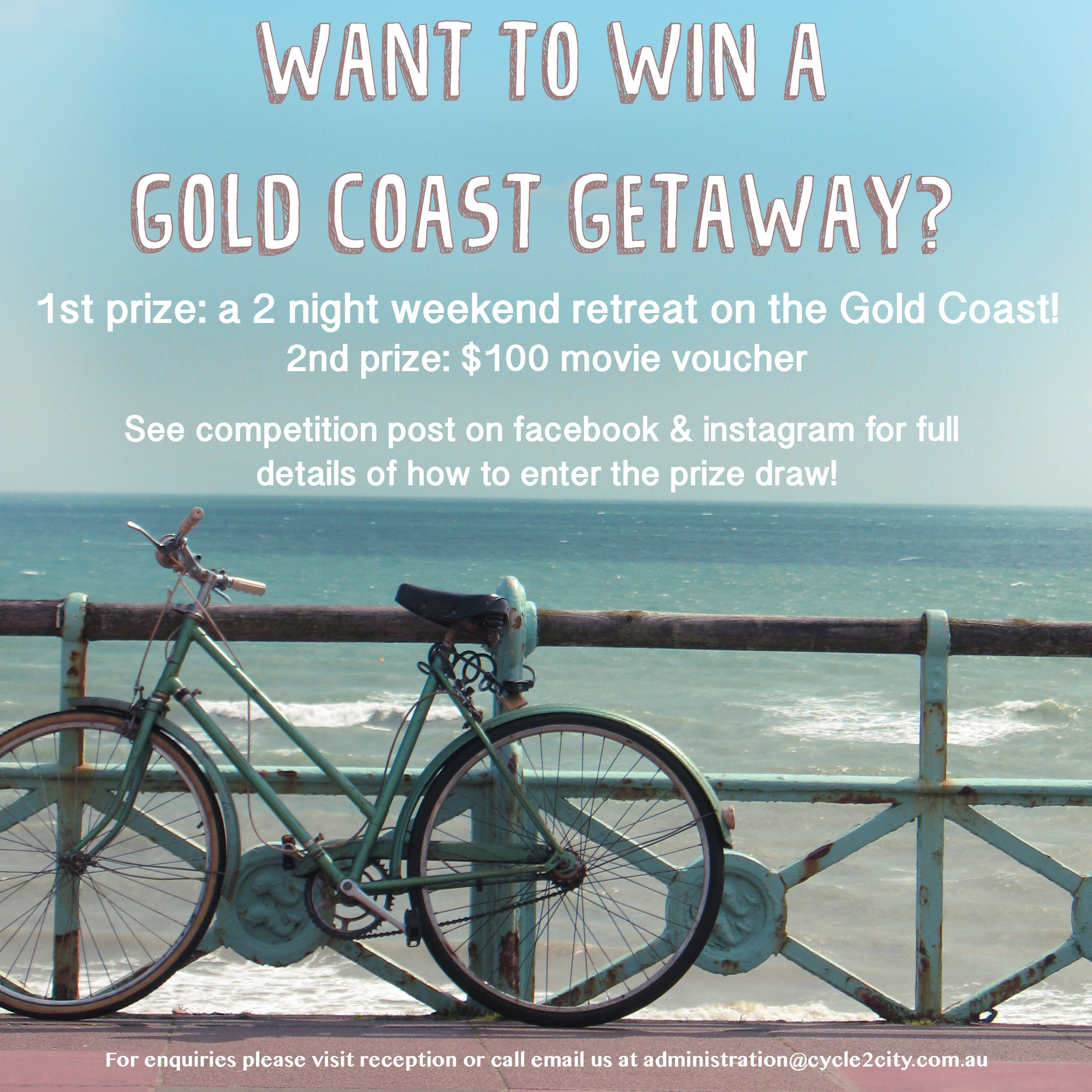 Want to win A Gold Coast Getaway?